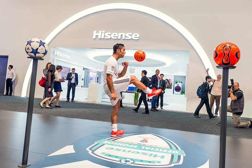 Celebrating the FIFA World Cup at IFA Berlin with Hisense