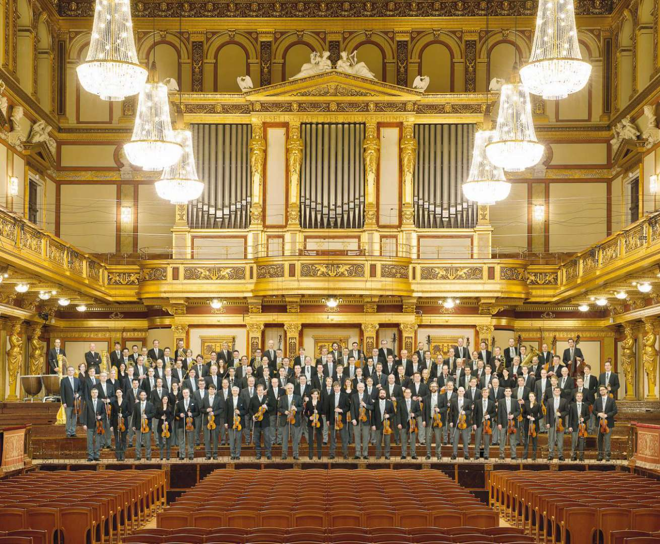 Vienna Philharmonic Orchestra Year end performances