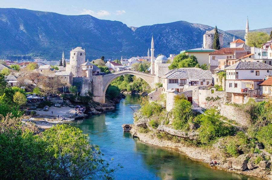 Stari Most one of of Mostars most iconic sights