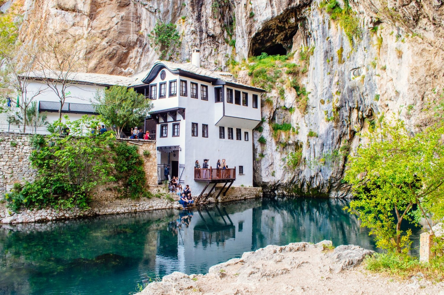 The picture perfect Blagaj Dervish House