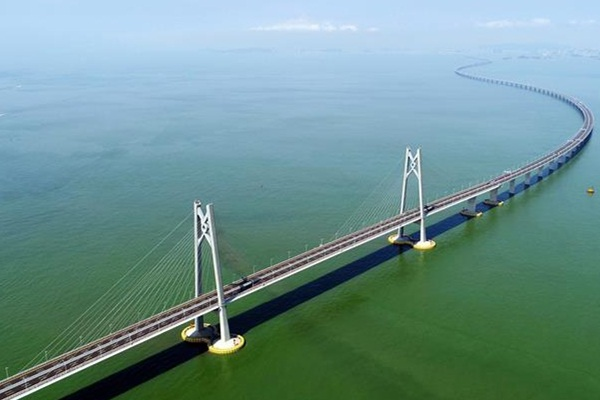 The Hong Kong Zhuhai Macao Bridge